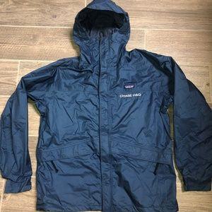 Men PATAGONIA Mesh Lined Waterproof Parka Jacket L